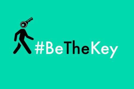 #BeTheKey